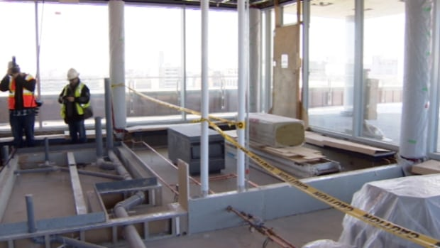 The space on the 11th floor of the Federal Building in downtown Edmonton will now be turned into conference rooms and a hosting space.