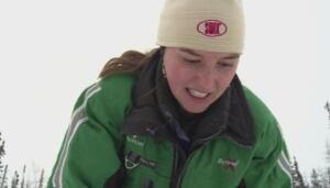 Jean Polfus researches caribou scat