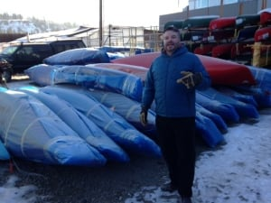 Kalin Pallett Royalex canoes