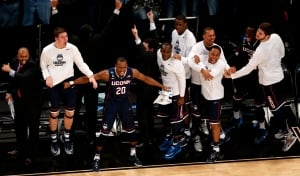 NCAA UConn Michigan St Basketball