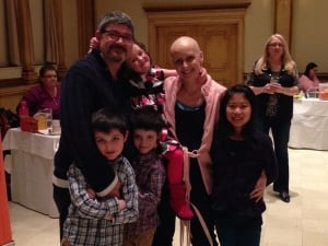 Couple fighting cancer