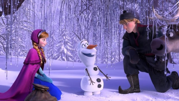 Frozen, inspired by the fairy tale The Snow Queen, has become the top-grossing animated film in box office history, according to Disney.