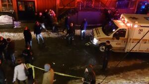 George Street stabbing