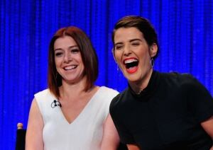 Alyson Hannigan and Cobie Smulders