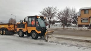 sidewalk snowplow, thunder bay