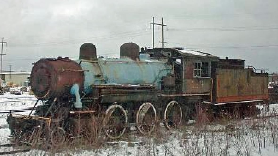 centuryold cochrane steam locomotive makes capreol home