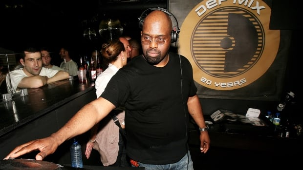 DJ Frankie Knuckles, seen at the Def Mix 20th Anniversary Weekender in London in 2007, was dubbed the 'Godfather of house music.'