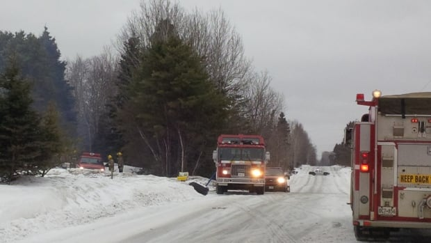 Thunder Bay firefighters battled a fire at a home on Onion Lake Road on April 1.