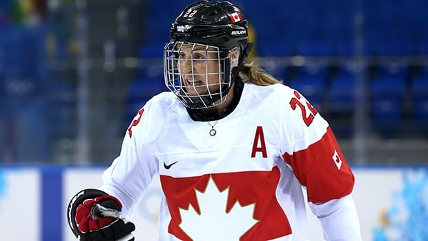 Canadian forward Hayley Wickenheiser said she had her foot injury for about a year and found a way to work around it.