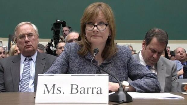 GM CEO grilled in Washington