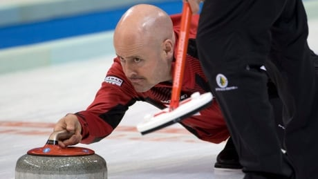 Canada's Kevin Koe earns split at men's curling worlds