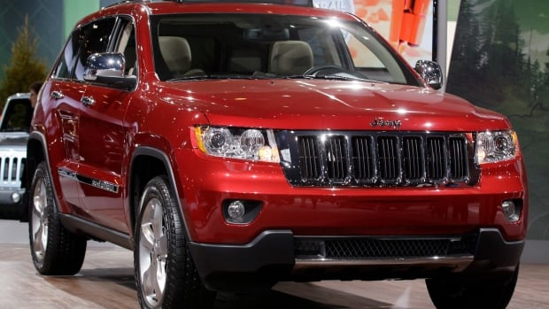 Chrysler is recalling 870,000 SUVs for problems with brake corrosion. This 2012 model year Jeep Grand Cherokee is included.