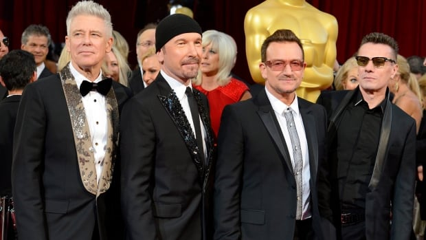 The 1987 album The Joshua Tree by Irish rockers U2, comprising (from left) Adam Clayton, The Edge, Bono, and Larry Mullen Jr., will join the U.S. National Recording Registry.