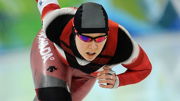 Speed skater Cindy Klassen competed in three Olympics, winning six medals.