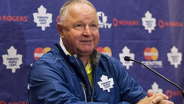 Randy Carlyle, head coach of the Toronto Maple Leafs, will be in Sudbury on Saturday to walk for ALS research.