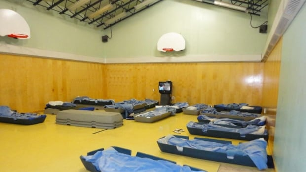 The Baffin Correctional Centre's gym is used as a dormitory as the facility contends with overcrowding and disrepair, according to the investigator's report.