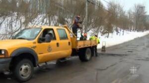 Fixing potholes