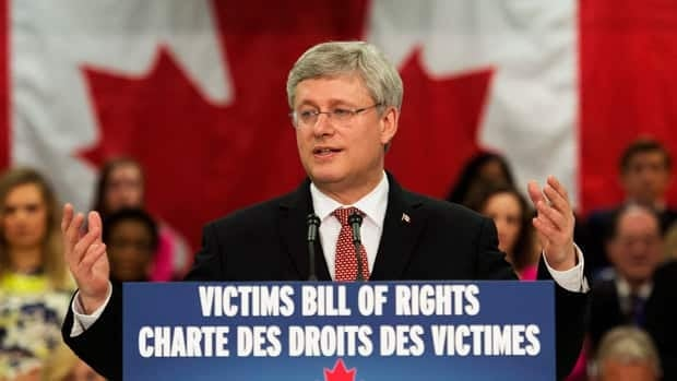 'Victims should not have to live in fear': Harper