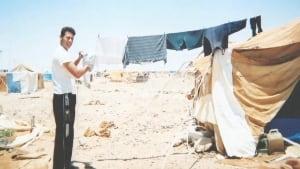 Ali Alheijaa refugee camp