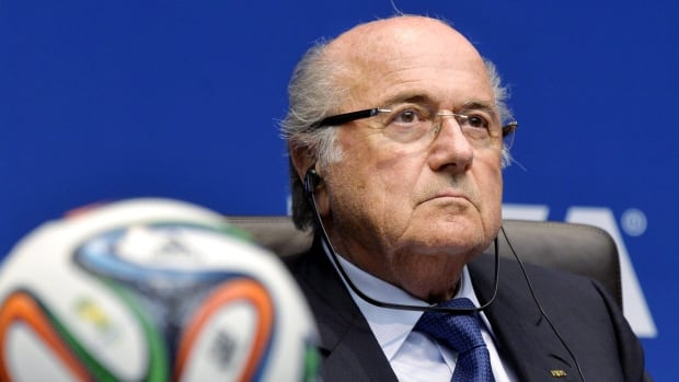 "FIFA President Joseph ""Sepp"" Blatter, is seen in Zurich on March 21."
