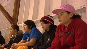 Lake Manitoba hockey players