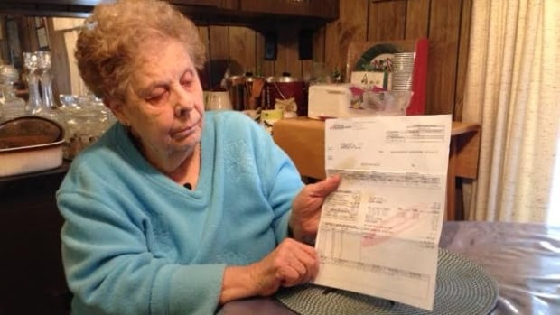 Shirley Lauzon's latest hydro bill is for $2000.