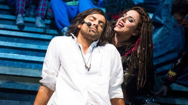 Ben Forster, seen performing with former Spice Girl Melanie Chisholm, previously starred in the Jesus Christ Superstar UK Rock Spectacular. He will reprise his role as Christ in the upcoming tour.