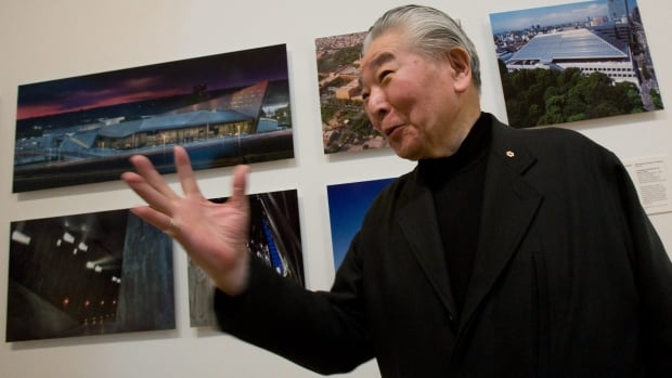 Raymond Moriyama, seen in Ottawa in 2009, has established a biennial, $100,000 international architecture prize to celebrate an outstanding building or project.
