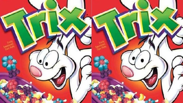 Two researchers from Cornell and one from Yale tested dozens of subjects to see which version of the Trix cereal box evoked more positive feelings. The image on the left is real. The one on the right has been altered.