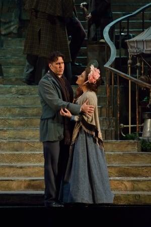 Mimi (Danielle Pastin) and Rodolfo (Eric Fennel)