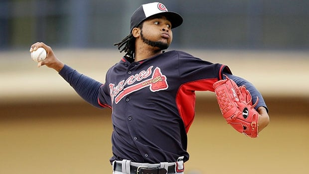 Starting pitcher Ervin Santana elected to sign with the injury-plagued Atlanta Braves last month for the same one-year $14-million US deal offered by the Jays.