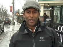 Adrian Harewood live Manotick CBC TV News