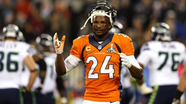 Cornerback Champ Bailey missed 11 games with the Denver Broncos because of a left foot sprain originally suffered in the 2013 pre-season, which would later be diagnosed as a Lisfranc injury.