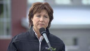 B.C. Premier Christy Clark - April 4, 2014