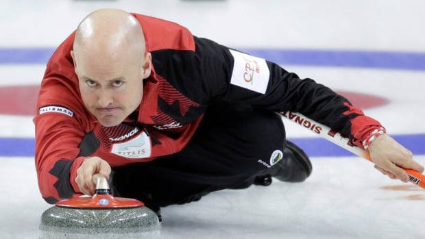 Canada's Kevin Koe was unable to beat Sweden's Oskar Eriksson in the round-robin, as well as in their semifinal on Saturday morning.