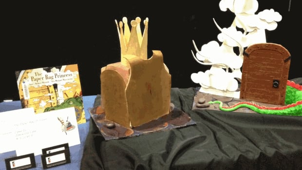 This creation is from Alix Loiselle of Oakwood Café, inspired by the Paper Bag Princess