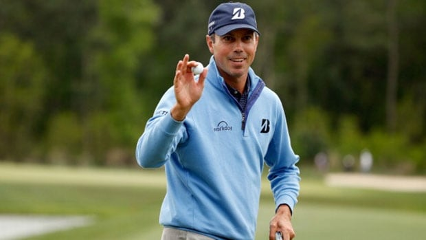 Matt Kuchar will take a four-shot lead into the final round of the Houston Open in Humble, Texas.