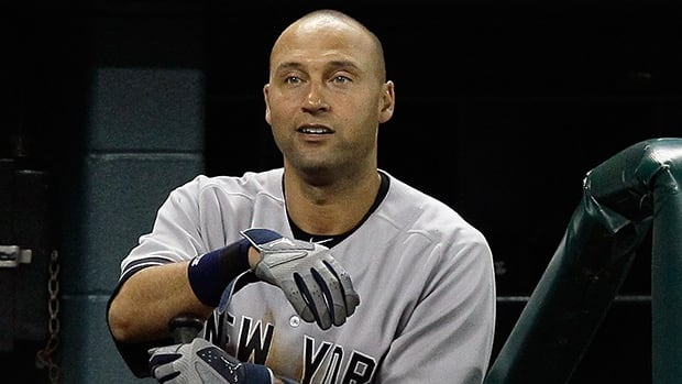 Derek Jeter of the New York Yankees took over sole possession of the eighth spot in all-time hits on Sunday against Toronto.