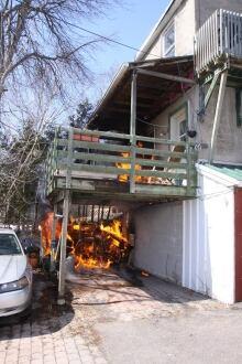 Bradley Avenue fire