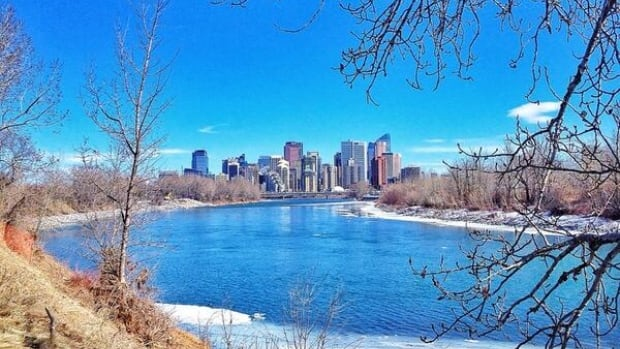 A gorgeous sunny day in Calgary gave many the opportunity to head outside.