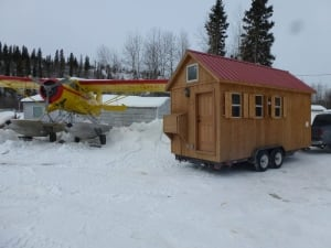 Tiny house in Yellowknife