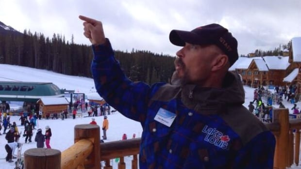Dan Markham, spokesman for Lake Louise Ski Resort, says the ski hill got a record amount of snow in March.