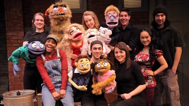 Avenue Q features eight talented young performers.