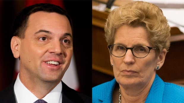 Tim Hudak and Kathleen Wynne do battle in the provincial legislature, and possibly in court as well as an election.