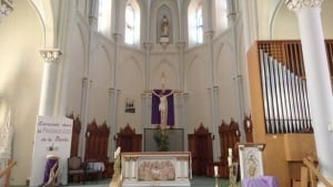 St. Paul's Catholic Church in Bas-Caraquet