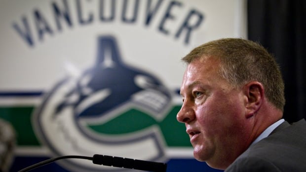 One day after being eliminated from playoff contention, the Vancouver Canucks have relieved president and general manager Mike Gillis of his duties.