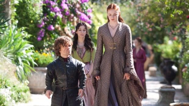 Game of Thrones features a vast cast of actors, including (from left) Emmy-winner Peter Dinklage, Sibel Kekili and Sophie Turner.