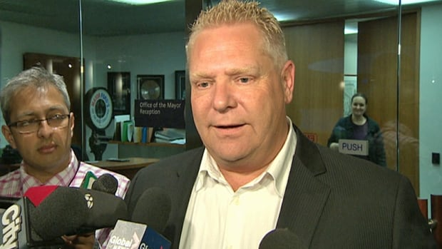 Coun. Doug Ford told reporters Tuesday that a posting appeared on Facebook describing a fake Ford Nation contest that purportedly was offering a date with the mayor's niece.