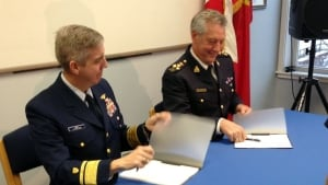 U.S. Coast Guard and RCMP sign Shiprider agreement