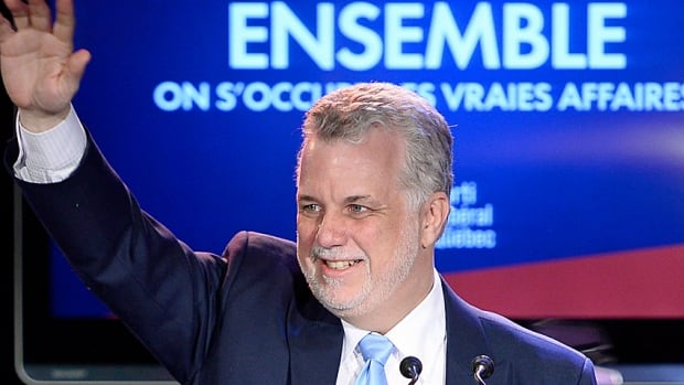 Quebec's next premier, Liberal Leader Philippe Couillard, may find himself much sought after in the run-up to the federal election next year.